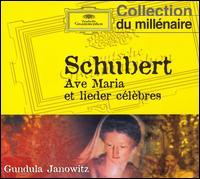 Schubert: Ave Maria et lieder c�l�bres - Gundula Janowitz (soprano); Irwin Gage (piano)