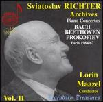Sviatoslav Richter Archives, Vol. 11: Piano Concertos by Bach, Beethoven, Prokofiev