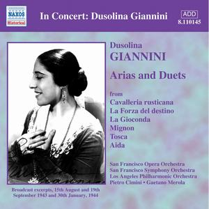 Dusolina Giannini Sings Arias and Duets -