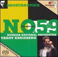 Shostakovich: Symphonies Nos. 5 & 9 - Russian National Orchestra; Yakov Kreizberg (conductor)