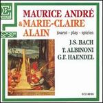 Maurice Andr� & Marie-Claire Alain play Bach, Albinoni, Haendel
