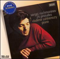 Rachmaninov: 24 Preludes - Vladimir Ashkenazy (piano)
