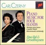 Carl Czerny: Piano Music for Four Hands