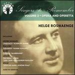 Singers to Remember: Helge Roswaenge