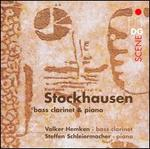 Stockhausen: Bass Clarinet & Piano