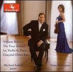 Bolcom: The Four Sonatas for Violin & Piano; Graceful Ghost Rag