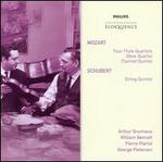 Mozart: Flute Quartets; Oboe Quartet; Clarinet Quintet; Schubert: String Quintet