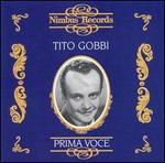 Prima Voce: Tito Gobbi