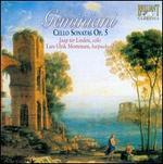 Geminiani: Cello Sonatas, Op. 5
