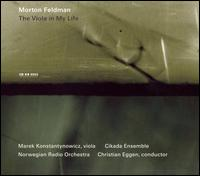 Morton Feldman: The Viola in My Life - Cikada String Quartet; Kenneth Karlsson (piano); Marek Konstantynowicz (viola); Norwegian Radio Orchestra;...