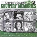 America's Greatest Country Memories, Vol. 3