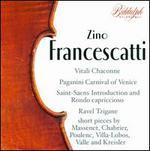 Zino Francescatti plays Favourite Violin Pieces