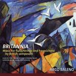 Britannia: Music for For Flute, Strings and Harpsichord by British Composers