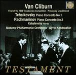 Tchaikovsky: Piano Concerto No. 1; Rachmaninov: Piano Concerto No. 3; Kabalevsky: Rondo