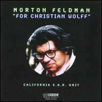 Morton Feldman: For Christian Wolff - California EAR Unit; Dorothy Stone (flute); Vicki Ray (celeste); Vicki Ray (piano)