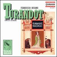 Busoni: Turnadot - Celina Lindsley (vocals); Friedrich Molsberger (vocals); Gabriele Schreckenbach (vocals); Gotthold Schwarz (vocals);...
