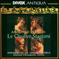 Antonio Vivaldi: Le Quattro Stagioni - Alberto Rasi (violin); Andrea Marcon (harpsichord); Enrico Parizzi (viola); Giancarlo Rado (archlute); Giorgio Fava (violin);...