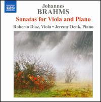 Brahms: Sonatas for Viola & Piano - Jeremy Denk (piano); Roberto Diaz (viola)