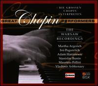 Great Chopin Performers: The Warsaw Recordings - Adam Harasiewicz (piano); Halina Czerny-Stefanska (piano); Ivo Pogorelich (piano); Jean-Marc Luisada (piano);...