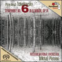 Tchaikovsky: Symphony No. 6; Capriccio Italien - Russian National Orchestra; Mikhail Pletnev (conductor)