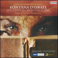 Johann Hermann Schein: Fontana d'Israel - Bernhard Schneider (tenor); Christine Kyprianides (viola da gamba); Christoph Lehmann (organ);...