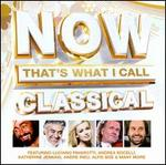 Now That's What I Call Classical - Aled Jones (vocals); Alfie Boe (vocals); Andrea Bocelli (tenor); Bella Davidovich (piano); Bond; Bryn Terfel (baritone); Hayley Westenra (vocals); Il Divo; James Galway (flute); Joe McElderry (vocals); Katherine Jenkins (vocals); Kiri Te Kanawa (soprano)