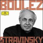Boulez Conducts Stravinsky - Alain Damiens (clarinet); Ann Murray (mezzo-soprano); Ensemble InterContemporain; GTrard CaussT (viola); John Shirley-Quirk (baritone); Michel Arrignon (clarinet); Phyllis Bryn-Julson (soprano); Robert Tear (tenor); Berlin Radio Chorus (choir, chorus)