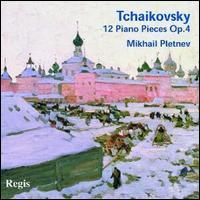 Tchaikovsky: 12 Piano Pieces, Op. 40 - Mikhail Pletnev (piano)