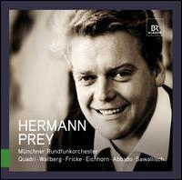 Great Singers Live: Hermann Prey - Hermann Prey (baritone); Wolfgang Sawallisch (piano); Munich Radio Orchestra