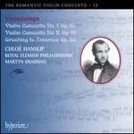Vieuxtemps: Violin Concertos Nos. 1 & 2; Greeting to America