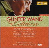 Tchaikovsky: Piano Concerto No. 1; Mussorgsky: Pictures at an Exhibition - Jorge Bolet (piano); NDR Symphony Orchestra; G�nter Wand (conductor)