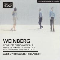 Weinberg: Complete Piano Works, Vol. 2 - Allison Brewster Franzetti (piano)