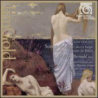 Claude Debussy: Sonate pour fl�te, alto et harpe; Syrinx; Chansons de Bilitis - Ariane Jacob (piano); Ariane Jacob (celeste); G�rard Causs� (viola); Germaine Lorenzini (harp); Irene Jacob;...