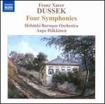 Franz Xaver Dussek: Four Symphonies