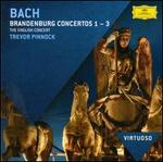 Bach: Brandenburg Concertos Nos. 1-3 - Alastair Mitchell (bassoon); Christian Rutherford (horn); David Reichenberg (oboe); Michael Laird (trumpet); Philip Pickett (baroque flute); Simon Standage (violin); The English Concert; Trevor Pinnock (conductor)