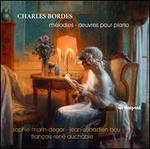 Charles Bordes: MTlodies; �uvres pour piano