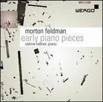 Morton Feldman: Early Piano Pieces