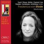 FaurT, Strauss, Mahler, Copland, Ives, Pasatieri, Canteloube, Schonberg: Lieder