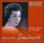 Portrait of a Legend: Giulietta Simionato