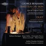 George Benjamin Written on Skin Duet for Piano and Orchestra (2 Cd Set)