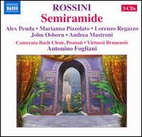 Rossini: Semiramide - Alex Penda (soprano); Andrea Mastroni (bass); John Osborn (tenor); Lorenzo Ragazzo (bass); Marianna Pizzolato (contralto);...