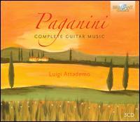 Paganini: Complete Guitar Music - Luigi Attademo (guitar)