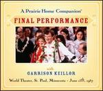 A Prairie Home Companion: Final Performance