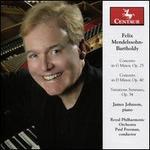 Piano Concertos-Variations Serieuses
