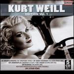 Kurt Weill: Edition, Vol. 1 [Box Set]