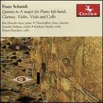 Franz Schmidt: Quintet in A major for Piano Left-hand, Clarinet, Violin, Viola and Cello