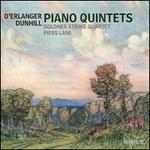 D'Erlanger, Dunhill: Piano Quintets