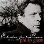 Philip Glass: Etudes for Piano, Vol. 1, No. 1-10