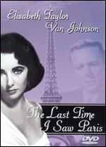 Elizabeth Taylor-the Last Time I Saw Paris
