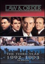 Law and Order-the Third Year (1992-1993 Season)